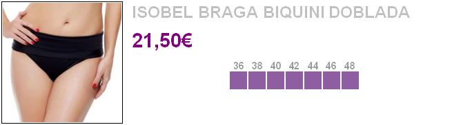Isobel - Braga biquini doblada