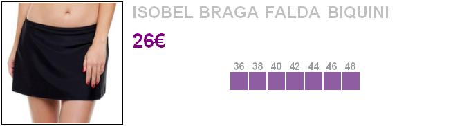 Isobel - Braga Falda Biquini