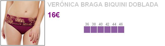 Verónica - Braga biquini doblada